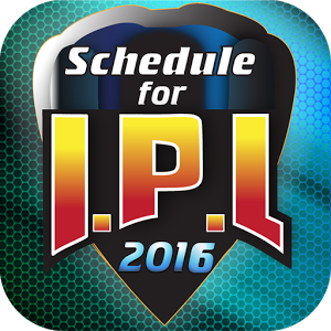 Schedule for IPL 2016