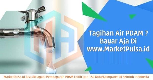 MarketPulsa.id Web Resmi Market Pulsa CV Market Cipta Payment Loket Pembayaran Online Tagihan Air PDAM Terbaik