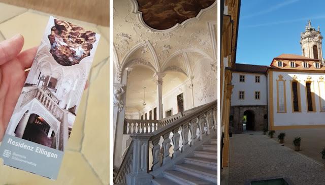 Ellingen - Residenzschloss Collage