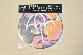 bring me the horizon, bmth, throne, drown, live from maida vale, maida vale, olly sykes, oliver sykes, scene, emo, vinyl, vinyls, rsd, record store day, exclusive, heavy metal, metal, live, 7 inch, picture disc