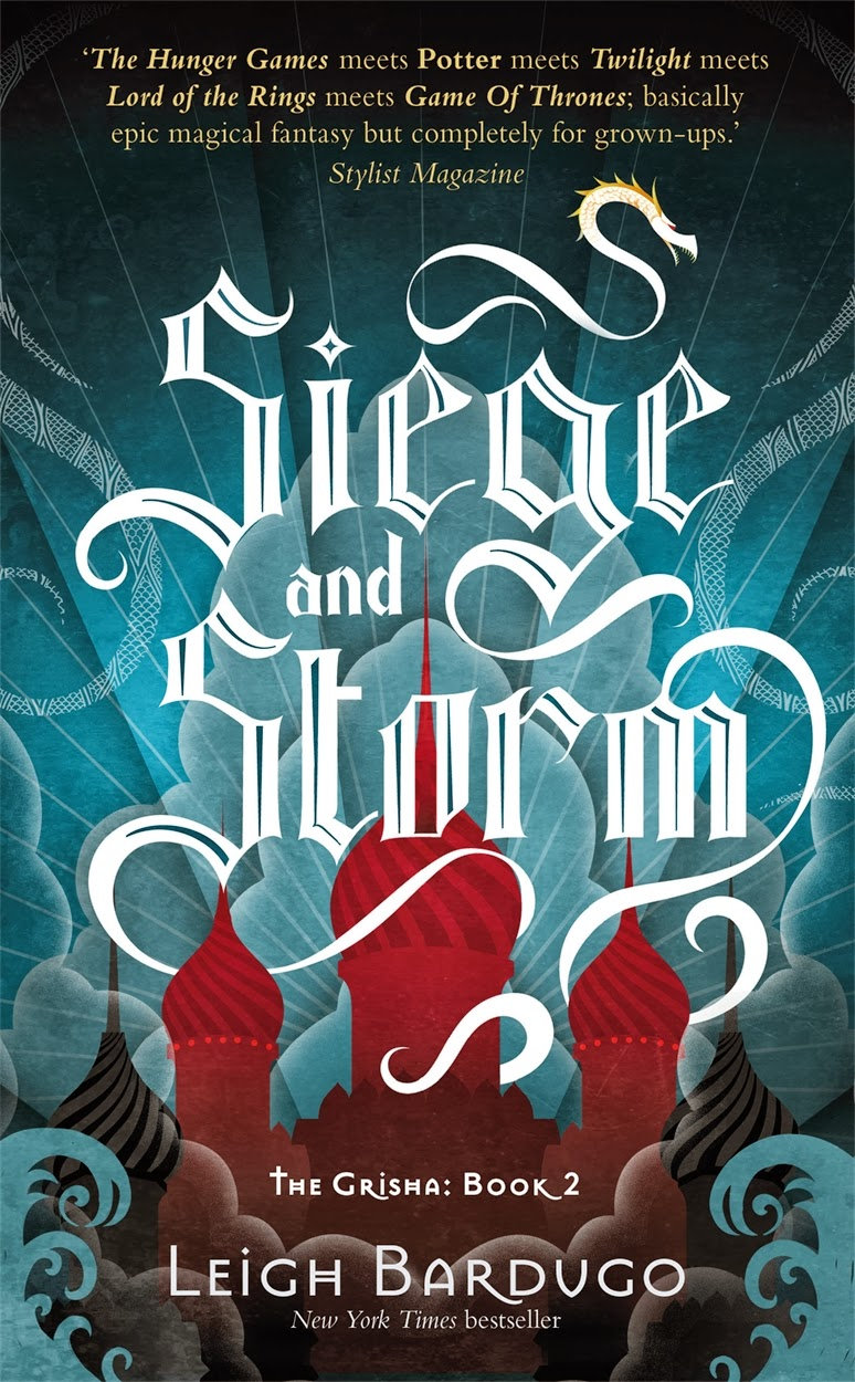 Siege and Storm Leigh Bardugo cover The Grisha