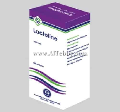 سعر ودواعى إستعمال دواء لاكتولين Lactoline شراب لعلاج الإمساك
