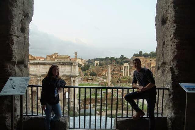 foro romano, ruinas de Roma, ruinas del foro, tabulario, tabularium