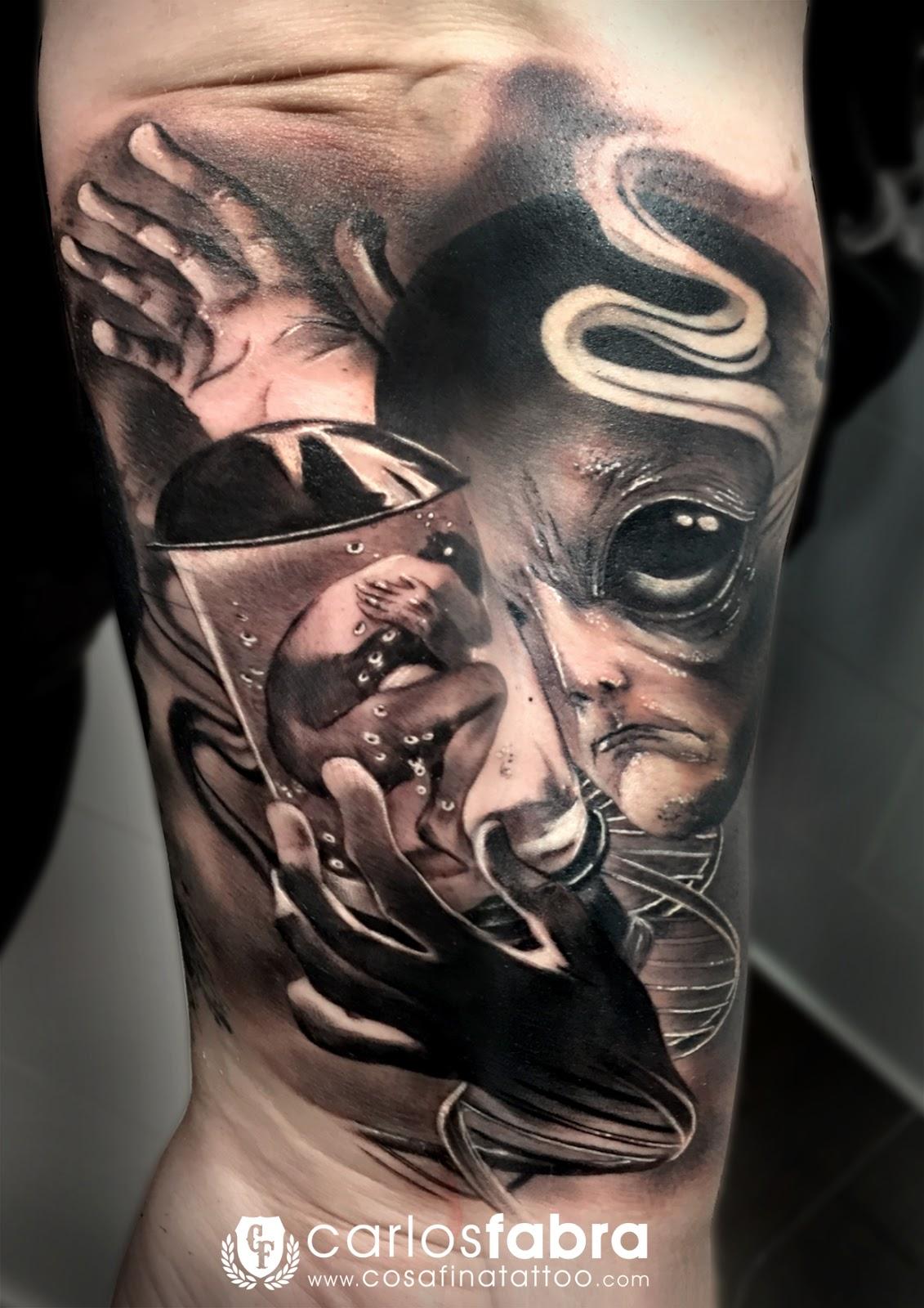 Cosafina Tattoo Carlos Art Studio Tatuaje Tatuajes Ovni Ufo
