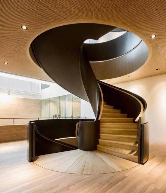 Unique spiral staircase design - Decor Units