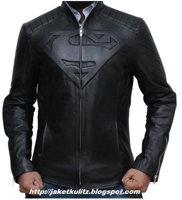 Gambar jaket superman warna hitam