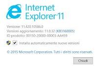 Si può rimuovere Internet Explorer da Windows 10, 7 e 8