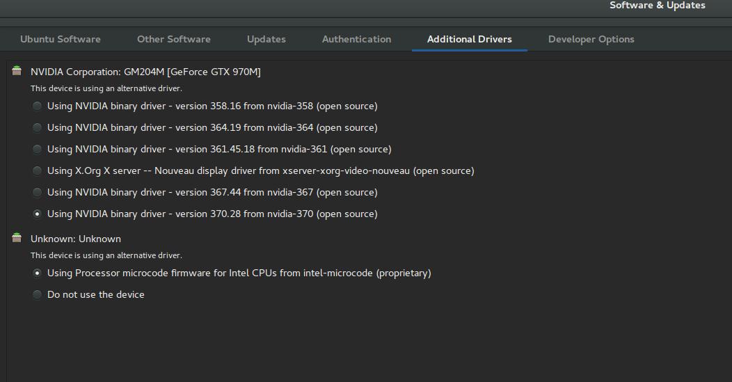 Ubuntu 16 04 on Alienware 15r2 | BDO Blog