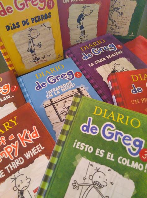 libro juvenil saga Greg