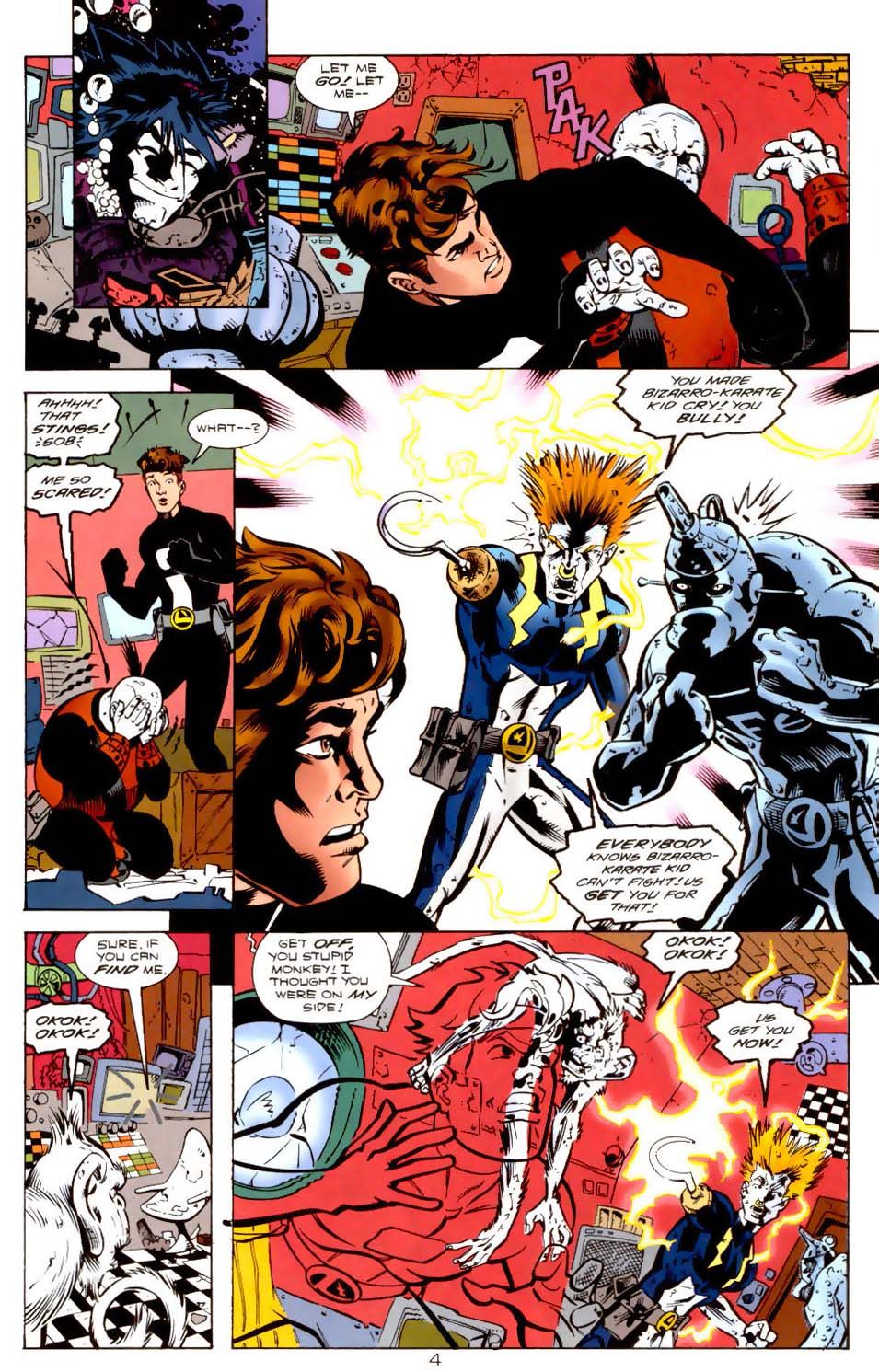 Legion of Super-Heroes (1989) 115 Page 4