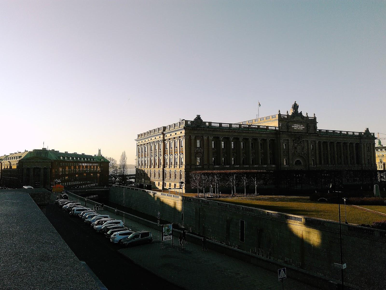 Parlament- Sztokholm