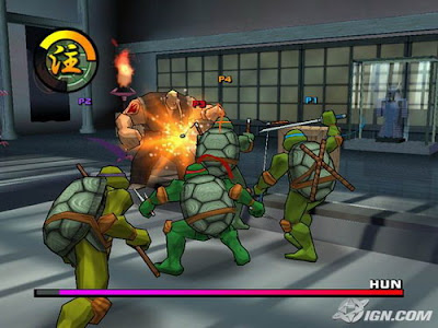 忍者神龜1+2(Teenage Mutant Ninja Turtles),3D動作過關遊戲!