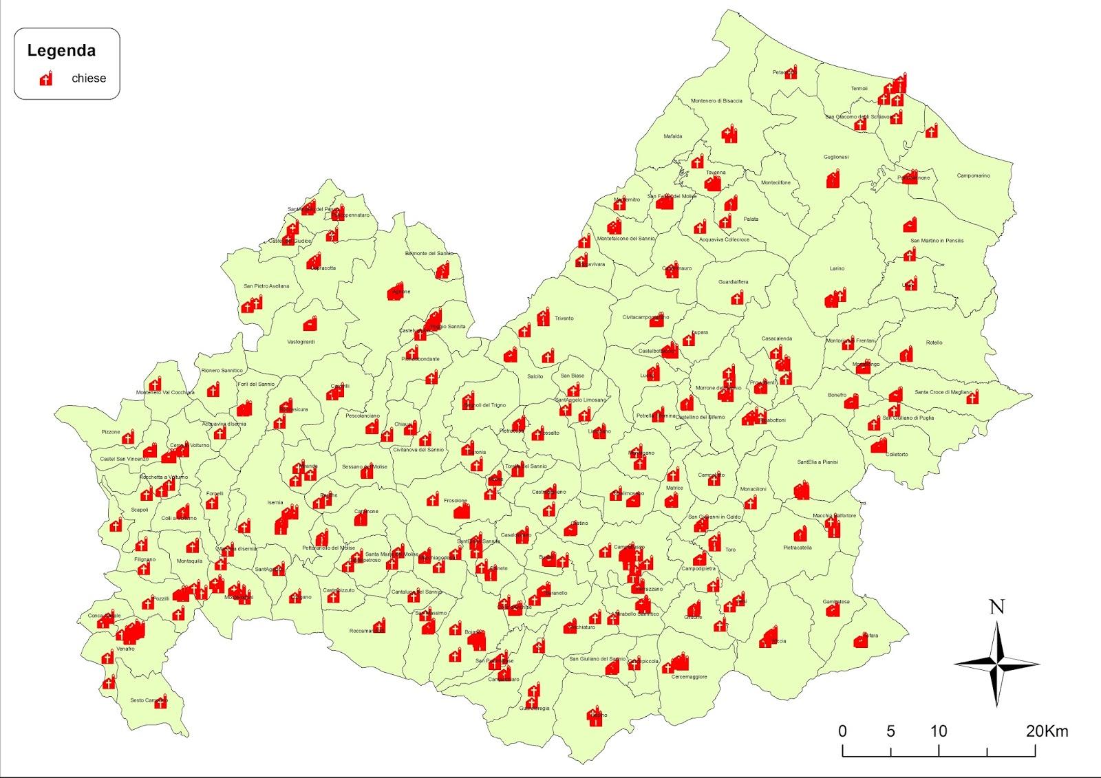 Cartina Stradale Del Molise