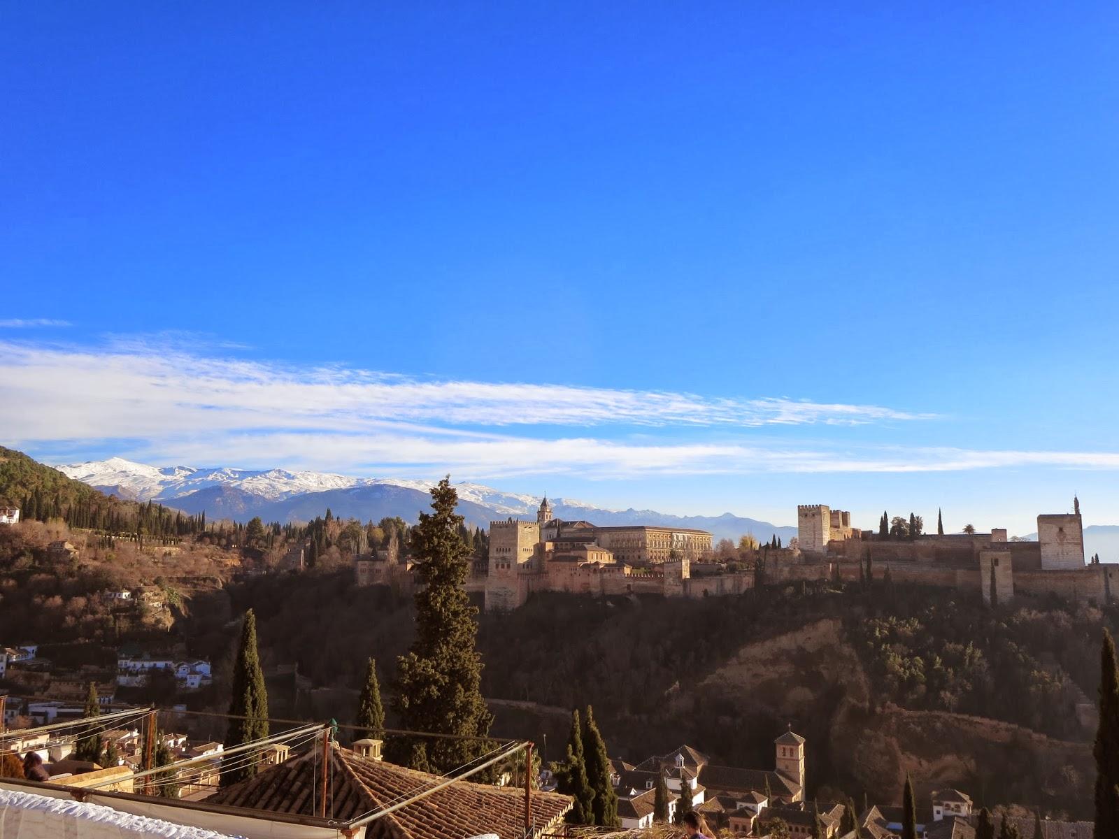 Christmas in Granada - Mirador San Nicolas