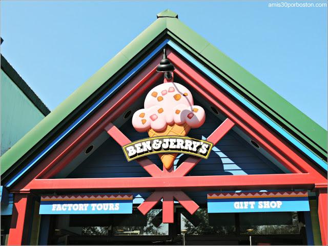 Fábrica de Helados de Ben & Jerry's en Vermont