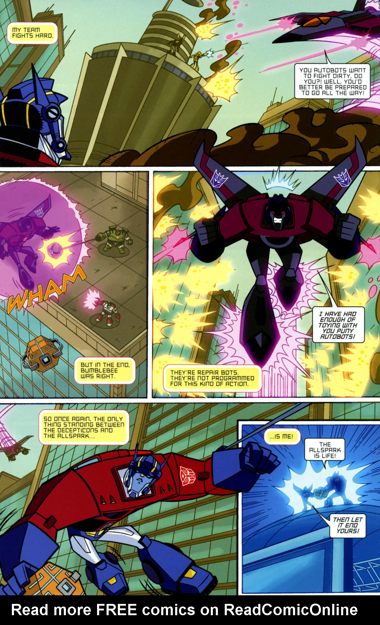 Read online Transformers Animated: The Arrival comic -  Issue #1 - 24