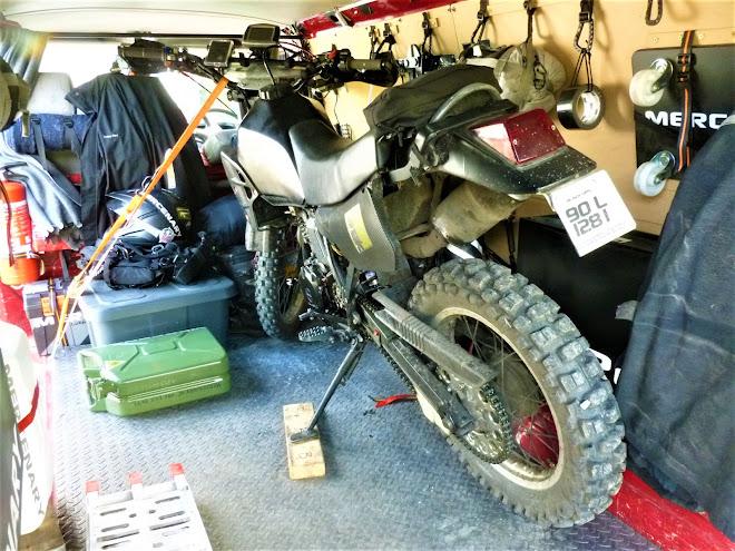 Mercenary Garage Kawasaki Stealth KLR 250