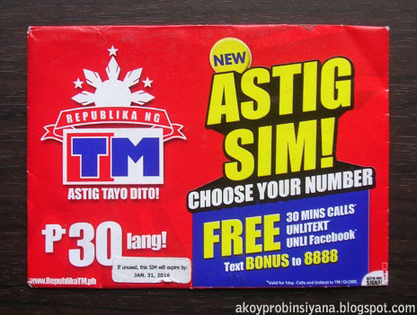New TM Sim Card