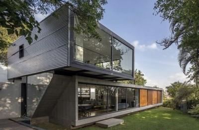 konsep rumah futuristik minimalis