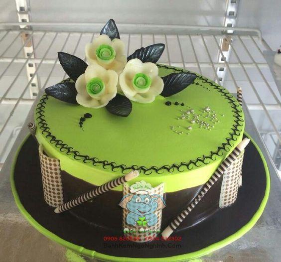 bánh sinh nhật đẹp dễ làm