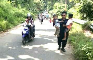 Objek Wisata Kota Padang Ramai Dikunjungi Para Perantau