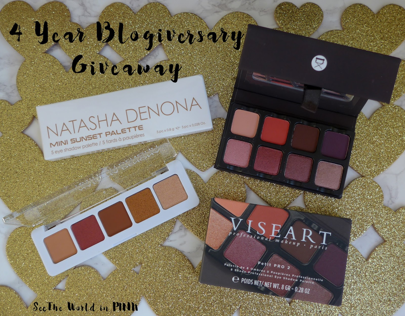 Happy 4 Year Blogiversary! Celebrating With A Giveaway!