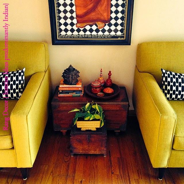 Home Design Ideas India: Rang- Decor {Interior Ideas Predominantly Indian }: MN Home