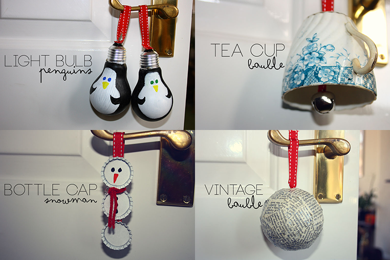 PRETTY WILD THINGS: Four Easy D.i.y Christmas Decorations