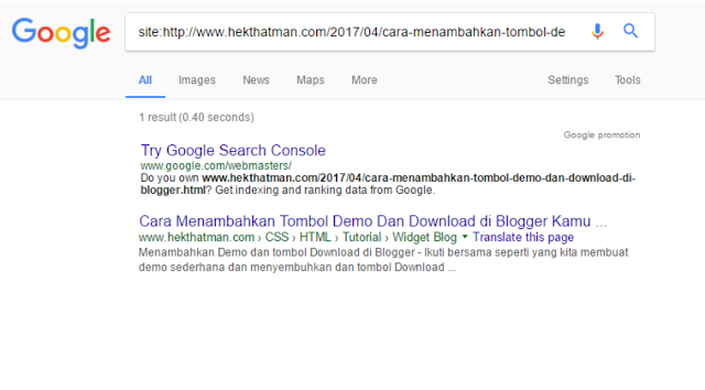 2 Cara Membuat Artikel Blog Terindex Oleh Mesin Pencari Google Dengan Cepat