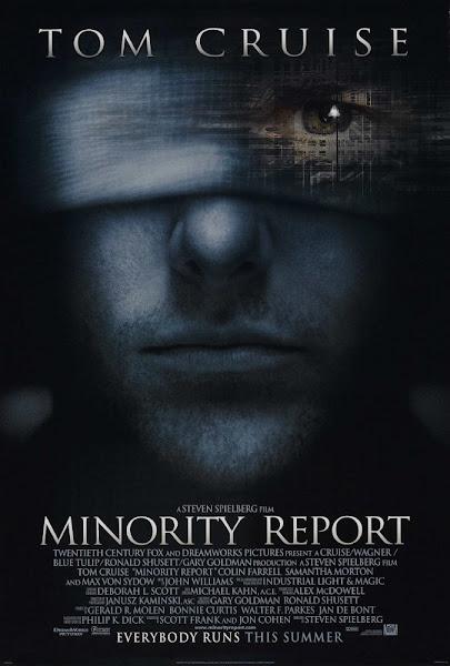 Poster Of Minority Report 2002 720p Hindi BRRip Dual Audio Full Movie Download