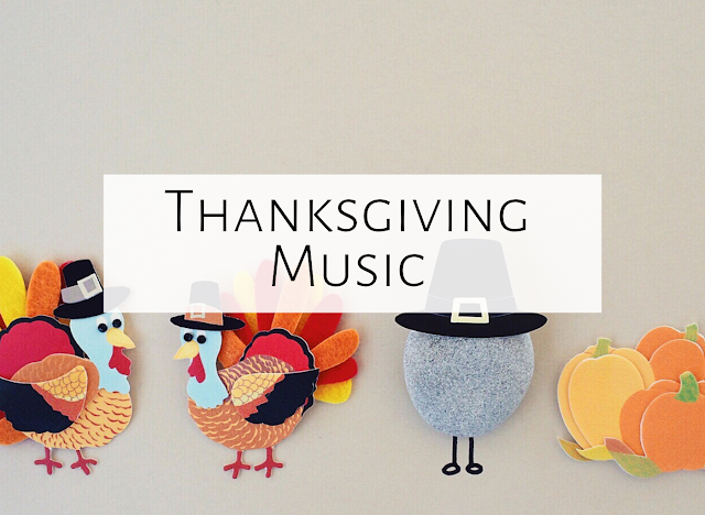Thanksgiving in the Music Room
