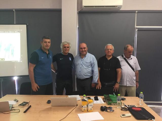ΕΠΣ Αργολίδας: Ξεκίνησε η Σχολή Ανανέωσης ταυτοτήτων προπονητών επιπέδου UEFA-A και UEFA-B