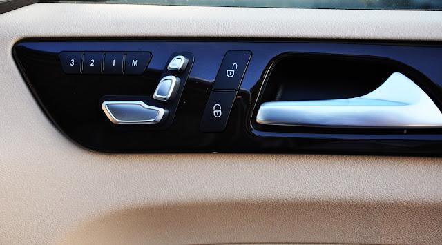 Mercedes GLS 350 d 4MATIC sử dụng Ghế người lái và hành khách phía trước chỉnh điện