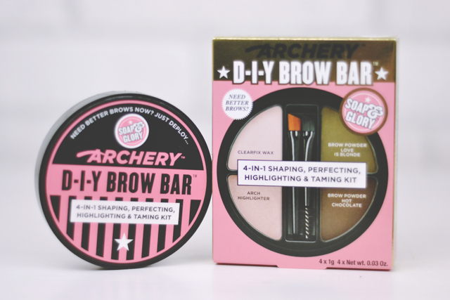 Soap & Glory Archery DIY Brow Bar honest blogger review