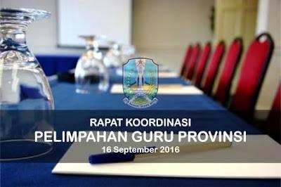 Hasil Rakor Peralihan Guru Ke Provinsi, Positif Per 1 Oktober SK Turun