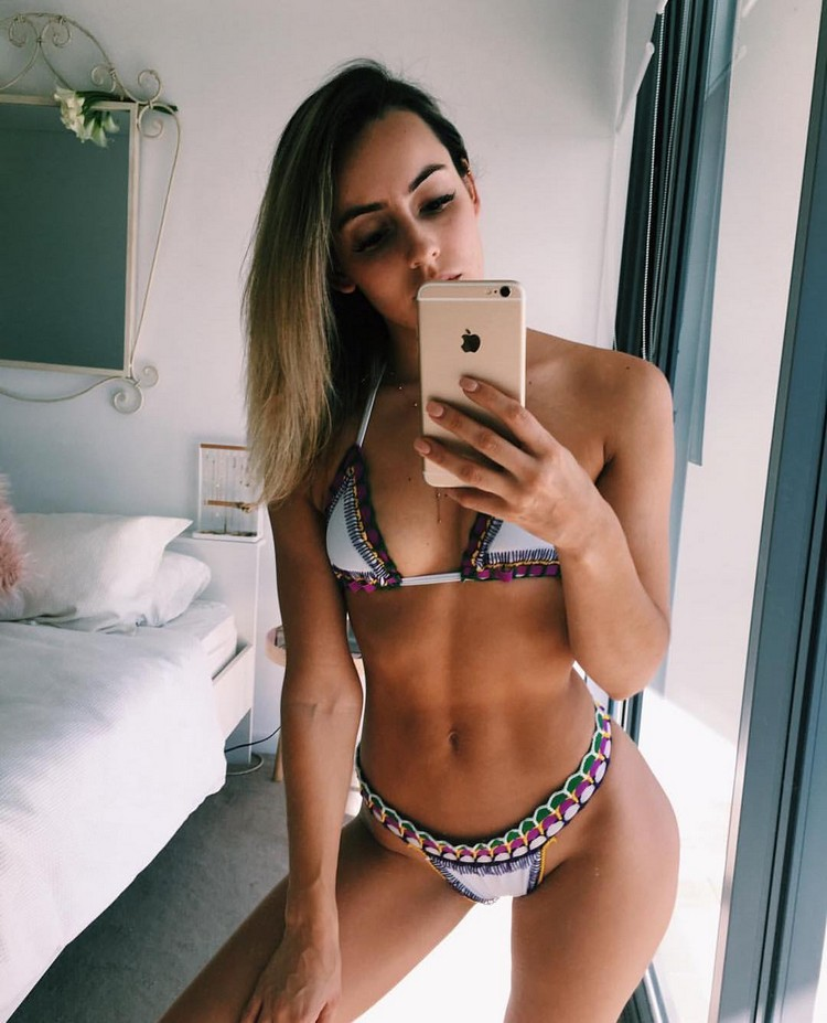 fitness blogger Madalin Giorgetta