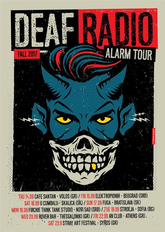 [News] DEAF RADIO autumn tour 2017