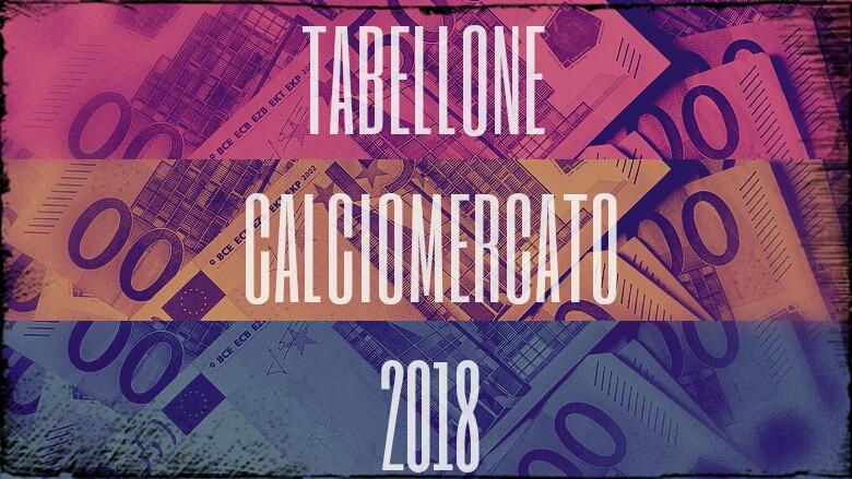Calciomercato: tabellone acquisti e cessioni 2018/2019
