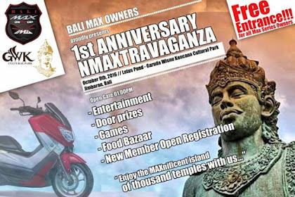1st Anniversary Bali Max Owners