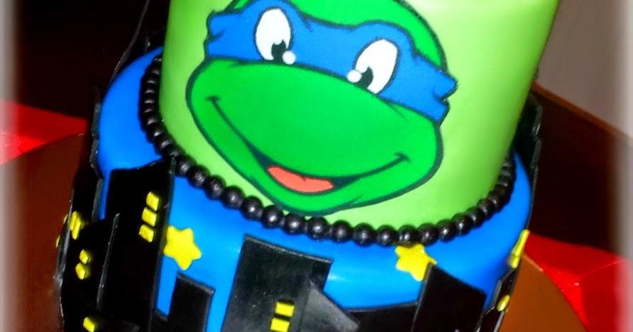 My Cake Sweet Dreams Teenage Mutant Ninja Turtles Leonardo Cake