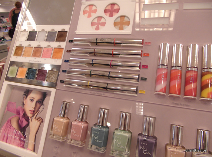 One little Vice beauty Blog: RMK Spring Vintage Sweets Collection