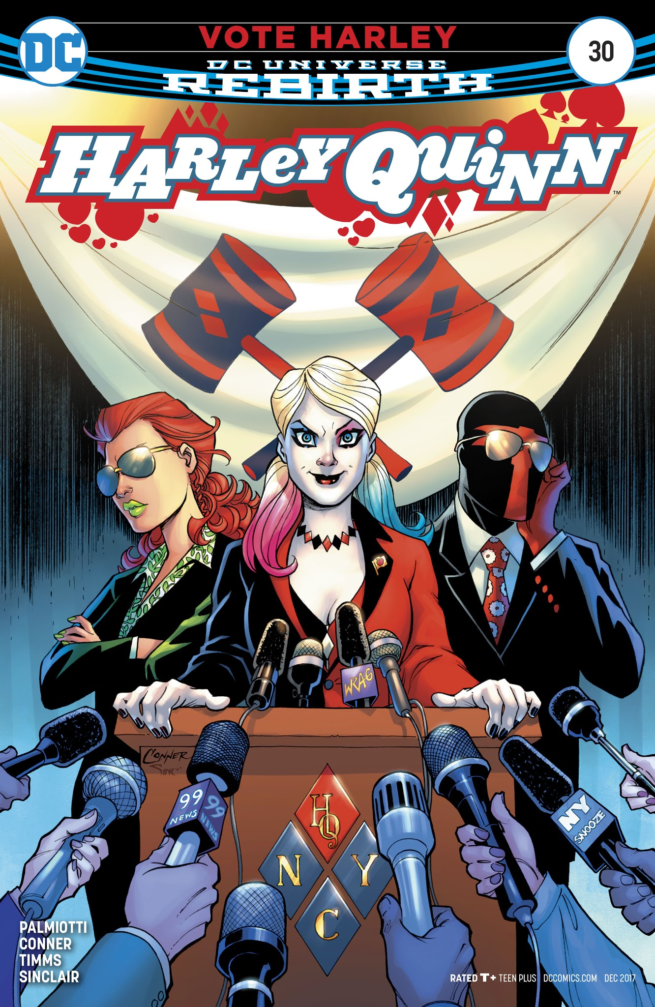 Harley Quinn (2016) 30 Page 1