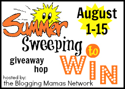 Sweeping for the Summer Giveaway Hop button