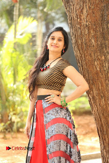 Telugu Actress Priyanka Pallavi Stills at Nenostha Release Press Meet  0009.JPG