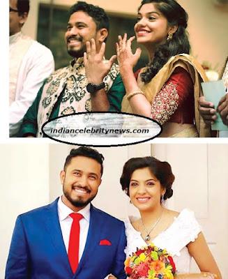actress Archana Kavi engagement