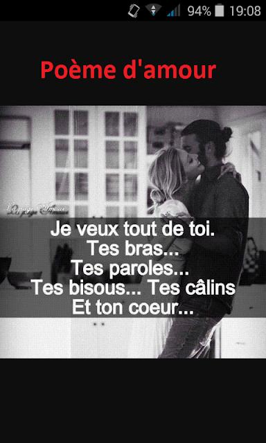 Image poème d'amour