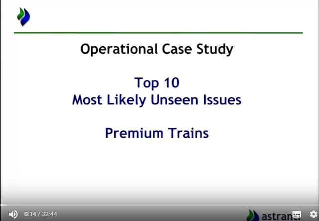 Top 10 issues video for CIMA OCS August 2017  - Premium Trains Case study
