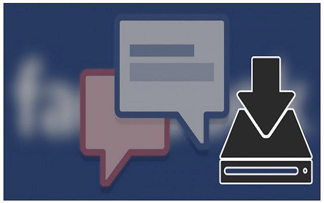 شرح تحميل وتنزيل نسخه من محادثاتك على فيسبوك والاحتفاظ بنسخة منها