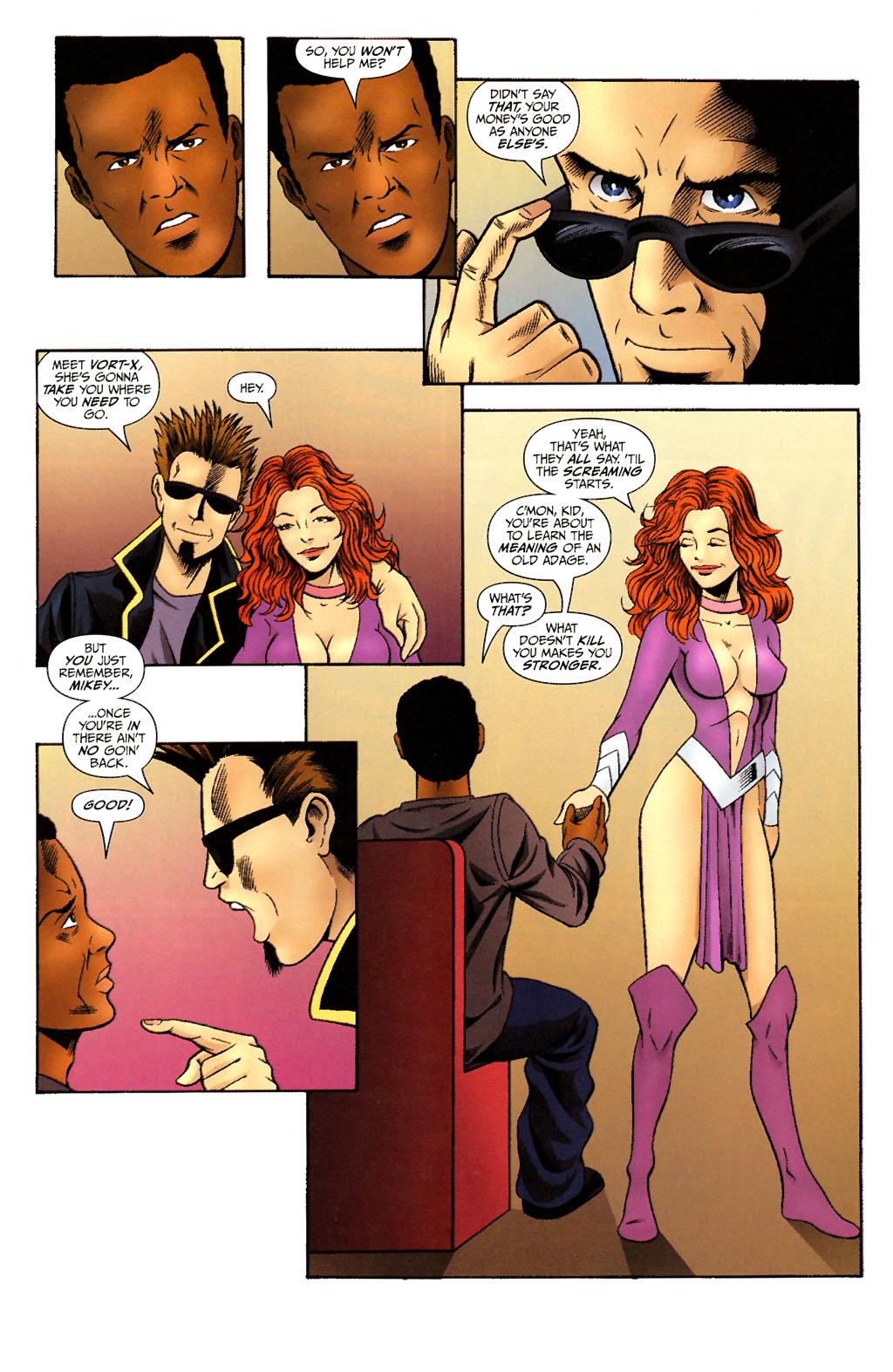 Read online ShadowHawk (2005) comic -  Issue #14 - 18