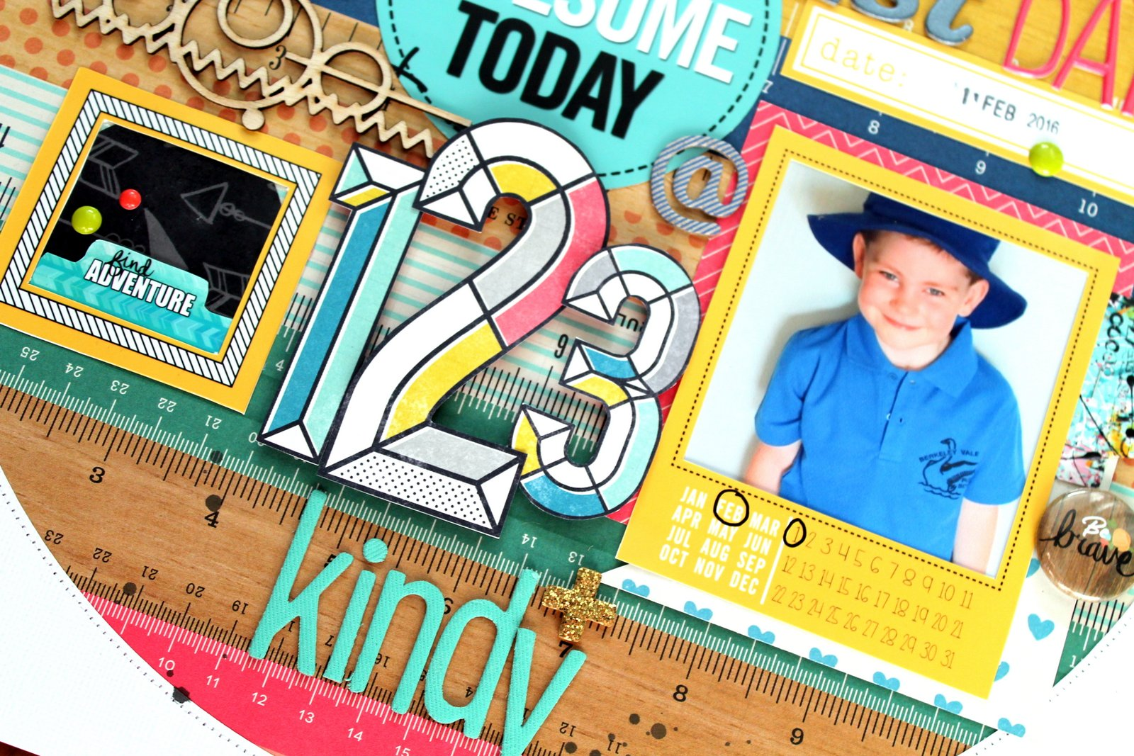 Tarrah Mclean 1st Day Of Kindy Flutterby Designs Guest